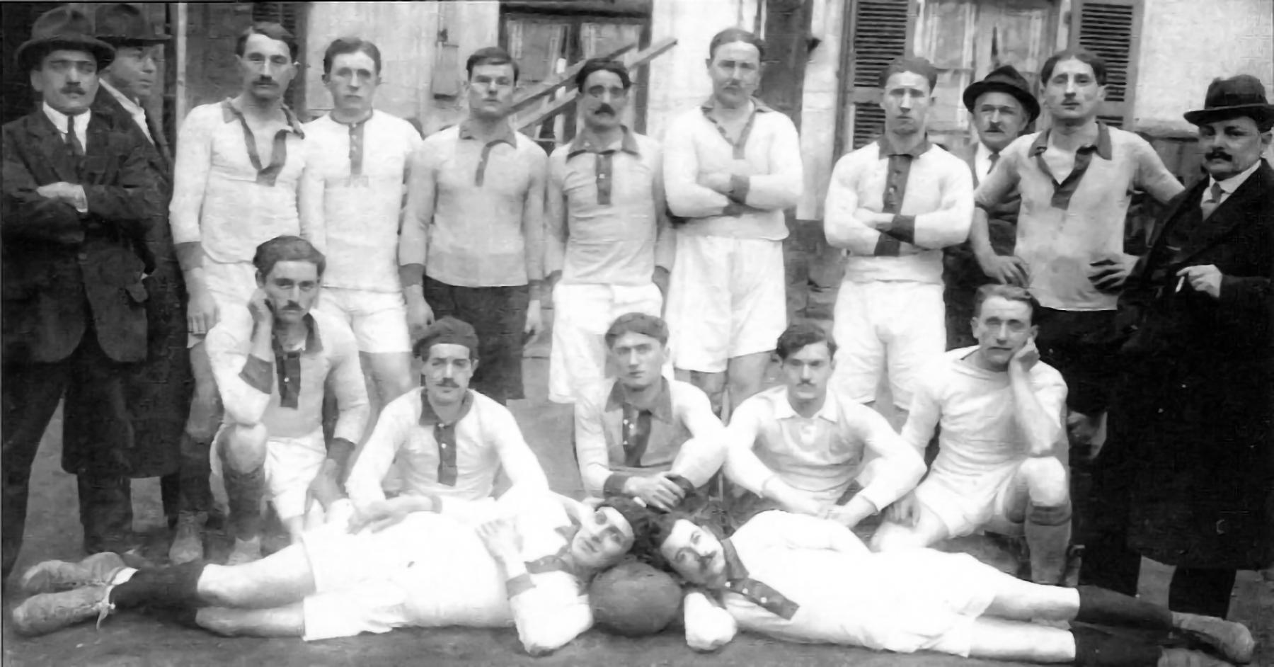 25 OCTOBRE 1912 – NAISSANCE DU CLUB